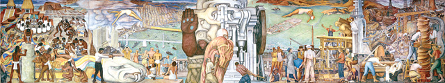 pan american unity fresco style mural designed Scientific photogrammetric imaging of a large-scale diego rivera fresco mural it is commonly known as pan american unity.